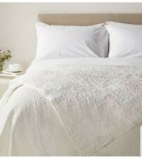 Bedspread boutique hotel john lewis 100% Silk King Size Reversable Rrp £350