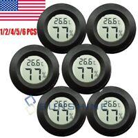 Meter Gauge Humidity Temperature Mini Thermometer Hygrometer LCD Celsius Digital