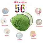 Worsted Silk Wool Fiber Cashmere Warm Soft Baby Yarn Knitting 50g Free Shipping