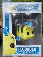 Disney The Little Mermaid - Flounder #237 Funko Pop Vinyl New in box +PROTECTOR