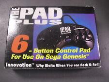 New Sega Genesis Both 3 & 6 Button Controller Control Pad Turbo Fire Joystick
