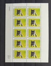 NLPP Netherlands 2020 Cats *4 (MNH) Block