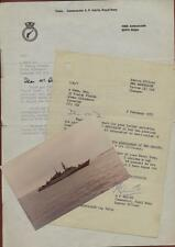 HMS Ambuscade.  Letters & Photograph. 1975  Royal Navy zg81