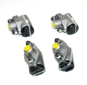 SET OF FRONT & REAR WHEEL CYLINDERS MORRIS OXFORD MO