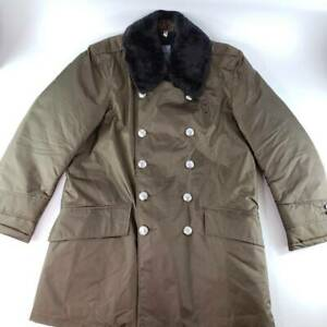 VTG Nylolite By Blauer Mens Military Parka Jacket Quilt Lined 3/4 Length Sz. 40S