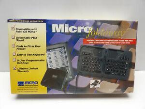 Micro Foldaway Portable KeyBoard And Stand For PDA TKB300P