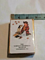 Vintage Norman Rockwell Museum Playing Cards Boy Dog Stockbridge MA ~ Ships FREE