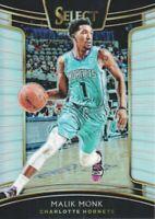 2018-19 Select Basketball Prizms Silver #30 Malik Monk Charlotte Hornets