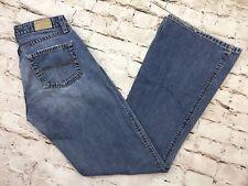 BKE Buckle Rail Regular Flare Leg Denim Jeans Womens Sz 28 x 31.5 (27 x 31) USA