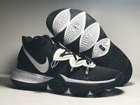 New Nike Kyrie 5 TB Black White Basketball Shoes CN9519-002 Men's Size 8.5 US