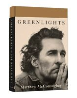 Greenlights by Matthew McConaughey Hardcover Book NEW 2020