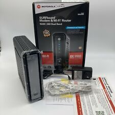 ARRIS SURFboard SBG6580 Cable Modem & Wi-Fi Router N300 Dual Band 4-Port gigabit