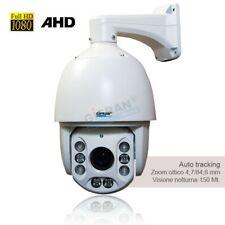Telecamere videosorveglianza AHD motorizzata 360° Speed Dome Auto tracking 1080P