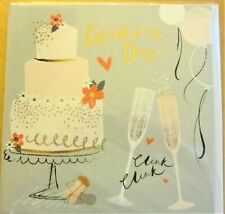 New Stock 2019 - Contemporary Large Square Wedding Card