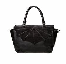 Banned Black Widow Lace Web Bag