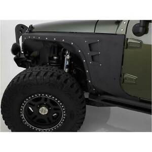 Smittybilt XRC Armor Front Fender Black for Jeep Wrangler JK/JKU 2007-2015