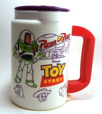 Disney World PIZZA PLANET Toy Story Insulated Whirley Travel Cup Mug Hot Cold