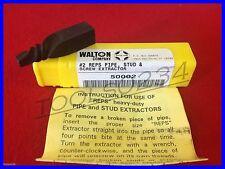 "Walton 50002  #2 REPS 1/4"" Pipe (NPT) 1/2"" Stud & Screw Extractor USA MADE"