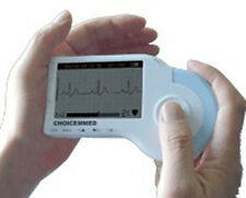 New Portable Handheld Home ECG EKG Heart Monitor - MD100B Complete Kit