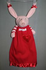 "Olivia Komet Creations Lovely 22"" Plush Toy Doll Security Blanket Blankie"