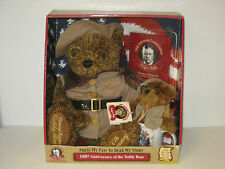 Dan Dee 100th Anniversary of Teddy Bear - Collector's Two Bears, Book & Cup 2002