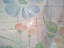 Tovaglia tela cerata in cotone resinato PVC H160mt  fantasia fiori vendita al MT