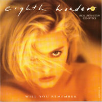 "7""  EIGHT WONDER Will you Remember,Mint ,Limited Edition,CBS 650264-0"