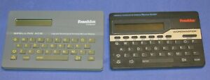 Lot of 2, Franklin Computer Spelling Ace & Franklin Wordmaster Good  Condition