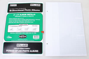 Pioneer Photo Album Refill Pages 46-BPR 4x6 for BP-200