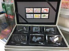 China Hong Kong 2016 2017 CRYSTAL BOX set + Toys stamp