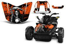Can Am F3-S Spyder Roadster Hood Graphic Kit Decal Sticker Wrap 2015-2016 REAP O
