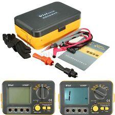 VC60B+ Digital Insulation Resistance Tester Megger MegOhm Meter 250/500/1000V