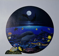 "WYLAND ""MOONLIGHT CELEBRATION"" GICLEE ON CANVAS SIGNED #242/750 W/COA"