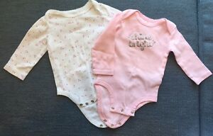 Baby Girl Long sleeve Bodysuits / One-Pieces 3-6 month