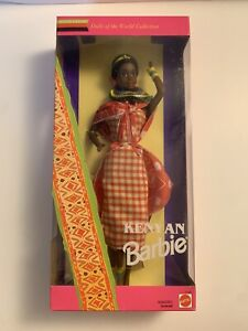 1993 Kenyan Barbie Doll of the World New in Box Special Edition Mattel