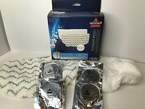 5938 - Bissell PowerFresh Steam Mop 2 Pads with 4 Fragrance Discs NEW FREE SHP!