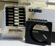ILFORD ILFOSPEED Multigrade Filters in Original Box