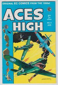 Aces High #5, WALLY WOOD, BERNIE KRIGSTEIN, EC Comics Reprint, FINE 1999