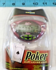 Tiger Games POKER CASINO GAME Handheld Electronic Travel Game Ships FREE