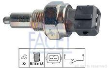 FACET Interruptor, piloto de marcha atrás PEUGEOT NISSAN MICRA FIAT 7.6099