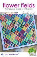 Flower fields Quilt pattern - Cozy Quilt Designs