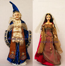 MERLIN & MORGAN LE FAY Barbie Ken Doll Together Magic & Mystery Giftset EXC Box