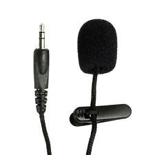 Portable Mini 3.5mm Lazo Solapa Lavalier Con Clip Micrófono para Conferencias