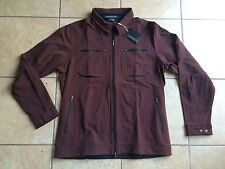 NIKE GOLF Tiger Woods Platinum Dri-FIT Directional Jacket-Brown-Large-NWT