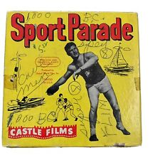 Sports Parade 8mm Black & White Vintage Movie