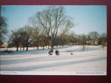 POSTCARD A6-2 HERTFORDSHIRE BOXMOOR IN THE WINTER
