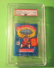 1985 Topps Garbage Pail Kids 2nd Series Empty Wrappers