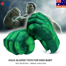 Kids Hulk Boxing Gloves Plush Toy Big Hand Gloves Fist Performing Props Toy