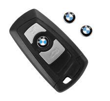 BMW LOGO EMBLEMA STEMMA FREGIO 11MM PER CHIAVE SERIE 1 3 5 X1 X2 X3 X4 X5