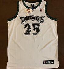 83f3c0767 Rare Vintage Authentic Adidas NBA Minnesota Timberwolves Al Jefferson Jersey